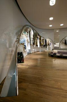 A full interior shot of Marni's Tianjin Galaxy store ...