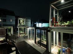 Tokyo, ON Design, Roppongi Nouen Farm, glass cubes - Inhabitat