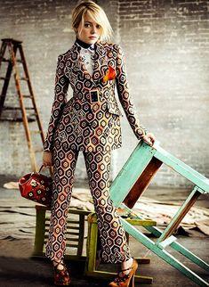 Emma Stone Vogue, julio 2012