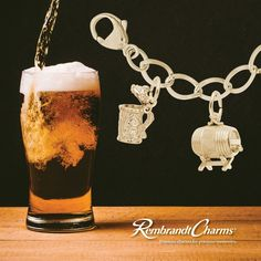 Rembrant makes charms for the beer lovers!