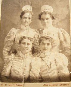 Vintage Nurses Photograph from 1898 @Umma Buxton @Cheryl O'Day @Charlene Hildebrandt