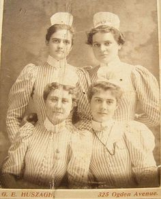 vintage nurses in uniform
