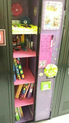 Middle school locker decked out! Found all the items at