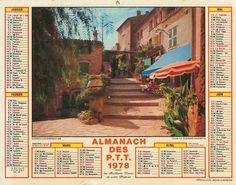 Almanach des Postes 1978 - 1er Semestre