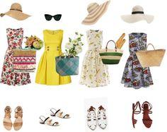 Spring sundresses + fun hats!