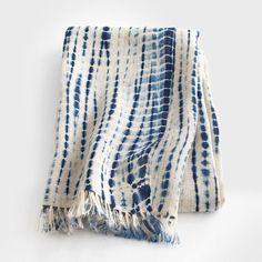 Indigo Tie-Dye Scarf by Aboubakar Fofana what a great handmade present! Shibori Fabric, Shibori Tie Dye, Bleu Indigo, Indigo Dye, Shibori Techniques, Tie Dye Patterns, How To Dye Fabric, Tye Dye, Fabric Design
