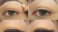Colorful Smoky Eyes