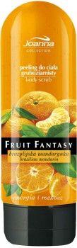 Peeling do ciała Fruit Fantasy intensywnie regeneruje zniszczony naskórek. Dokładnie oczyszcza i wygładza skórę, wyśmienicie ją zmiękcza, nawilżając i przygotowując do kolejnych zabiegów. Regeneruje i powoduje, że kosmetyki lepiej się wchłaniają, a przyjemny zapach mandarynki na długo z Tobą pozostanie.