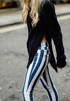 Rock 'n' Roll Style ☆ #stripes