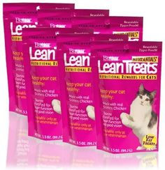 Butler Lean Treats Nutritional Rewards for Cats (6 Pack)…