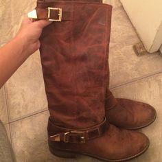 Steve Madden buckle boots As seen Steve Madden Shoes Heeled Boots