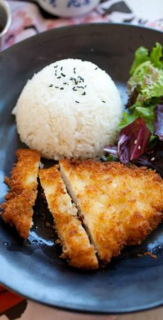Chicken Katsu is Japanese fried chicken cutlet with bread crumbs/panko. Easy chicken katsu recipe, served with Tonkatsu sauce   rasamalaysia.com