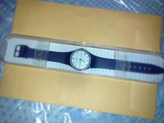 very first swatch watch vintage 1983 new in case - $265 (Midtown, NYC) Vintage Swatch Watch, Watch Sale, Vintage Watches, Jewelry Watches, Nyc, York, City, Silver, Accessories