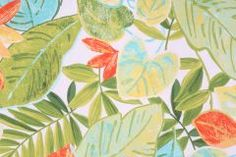 Everglades-Paramount in Parakeet Printed Cotton Drapery Fabric by Mill Creek $7.95 per yard