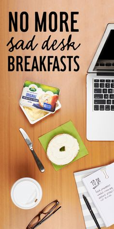 Say goodbye to sad desk breakfasts (looking at you, microwave breakfast sandwich), and hello to a simply better solution! #ArlaCreamCheese contains only four simple ingredients and none of the extra stuff – as if you need more work distractions – making it the better way to start your work day.
