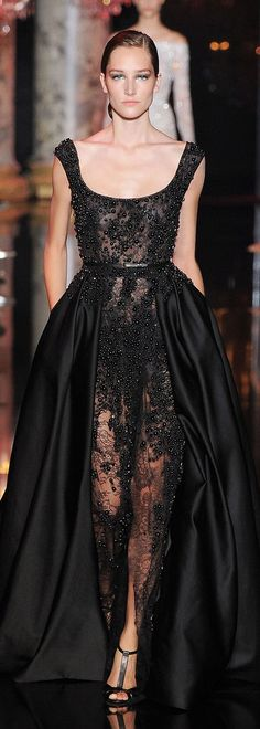 Elie Saab Couture Fall 2014 Too bad I don't frequent red carpets lol