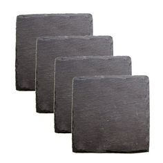 Slate Coasters set | Wine Accessories by True Fabrications