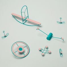 Unlike the typical seesaws, swing sets and monkey bars seen on playgrounds, Capucine Diancourt's set of Loose Play structures remain unfixed from the ground, challenging youngsters to find their balance. The French designer created the playground set...