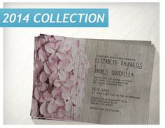Rustic Lilac Wedding Invitations