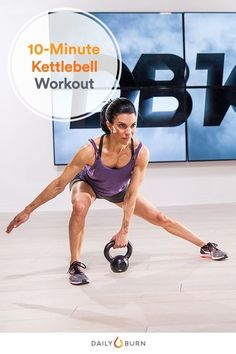 Got 10 Minutes? This Kettlebell Workout Only Has 3 Exercises | Posted By: AdvancedWeightLossTips.com