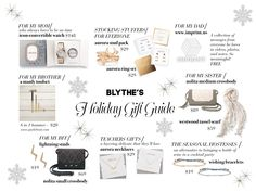Check out our Chief Creative Officer's Holiday Gift Guide!