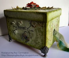 Stamping Sue Style: Altered box !