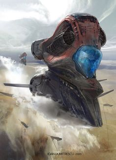 """sciencefictionworld: """"  """"Dune Spice Container"""" by Ioan Dumitrescu. """""""