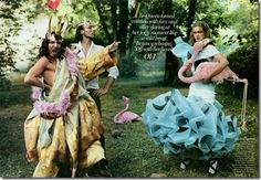vogue - alice in wonderland editorial.