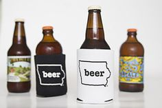 Iowa Craft Beer Tent koozies $4.00