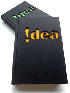 Notebook 'idea' blank sketch notebook / journal