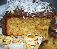Delectably Different: Gluten-Free Almond JOY! Cake