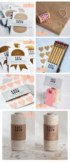We Love Knot & Bow ~ Craft and Packaging Supplies