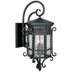 "Maxim Scottsdale 28"" High Country Forge Outdoor Wall Light -"