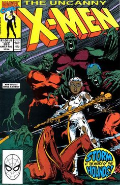Cover for The Uncanny X-Men (Marvel, 1981 series) #265
