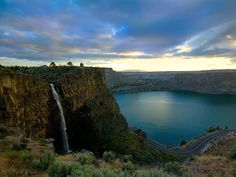 fall lake mountain
