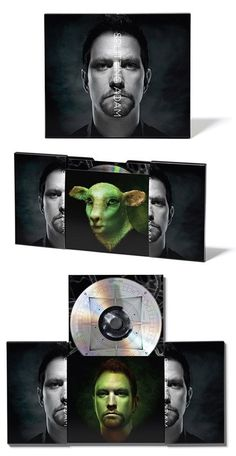 The 30 most impressive CD and DVD packaging I've seen in a while Cd Cover Design, Cd Design, Cd Packaging, Packaging Design, Cd Album, How To Look Better, Fun, Movie Posters, Blog