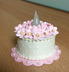 """Strawberry Cream"" Tea Light Cake (made by Kim)"