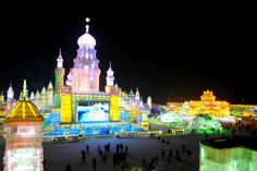Harbin Ice and Snow World: Ice Town! - See 1,120 traveler reviews, 1,067 candid photos, and great deals for Harbin, China, at TripAdvisor.
