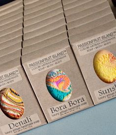 100% recycled & recyclable soap packaging!