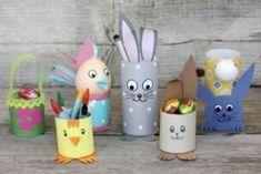 Veľkonočné tvorenie Easter Arts And Crafts, Easter Activities For Kids, Spring Crafts, Preschool Crafts, Diy And Crafts, Paper Flower Backdrop, Paper Flowers, Diy For Kids, Crafts For Kids