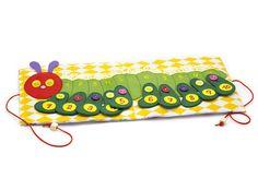 Quiet book mini caterpillar toy travel busy mat Felt