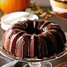 Try the Pumpkin Bundt Cake with Chocolate Glaze Recipe on williams-sonoma.com/