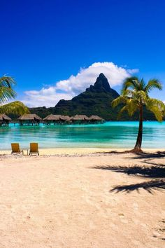 Bora Bora, Tahiti, French Polynesia #weddinginspiration  #destinationweddings #honeymoondestination