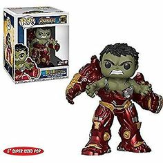 Funko have released a wide selection of Pop Vinyls based on Marvel Avengers: Infinity War and Gamestop have a new super sized Pop featuring the Hulk [. Funko Pop Marvel, Marvel Avengers, Thanos Marvel, Ms Marvel, Marvel Art, Captain Marvel, Marvel Comics, Funk Pop, Funko Pop Dolls
