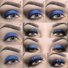 Tips in Wearing Blue Eyeshadow