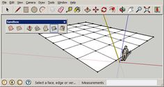 Sandbox tools for SketchUp denote a collection of tool palettes utilized to generate terrain models. check it today Sketchup Pro, Google Sketchup, Camera Drawing, Study Architecture, 3d Warehouse, Sandbox, Urban Planning, Autocad, How To Apply