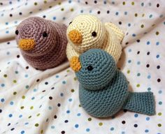 Blogged: Sweet Tweeters from Modern Baby Crochet