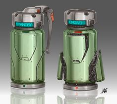 Commission: Smart grenade by aiyeahhs.deviantart.com on @DeviantArt