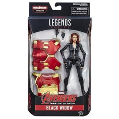Marvel Legends: Avengers Age of Ultron Black Widow Action Figure
