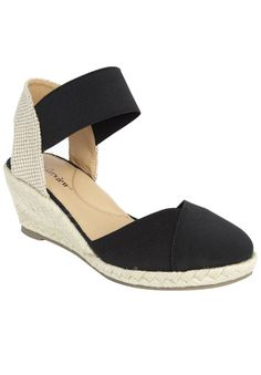 Wide Width Abra Espadrille by Comfortview | Espadrilles from Jessica London